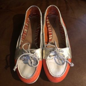 Shoes - Sperry Topsider Audrey Boat Shoes - 8M